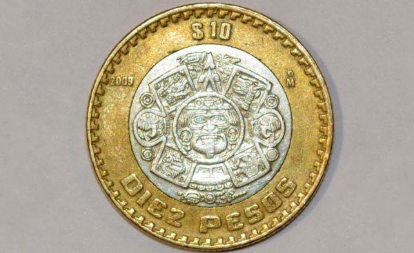 Qu materiales contienen las monedas de 10 pesos as for Cuanto peso aguanta un cuelga facil